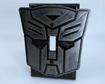 Transformer - Optimus Prime - Switchplate Cover