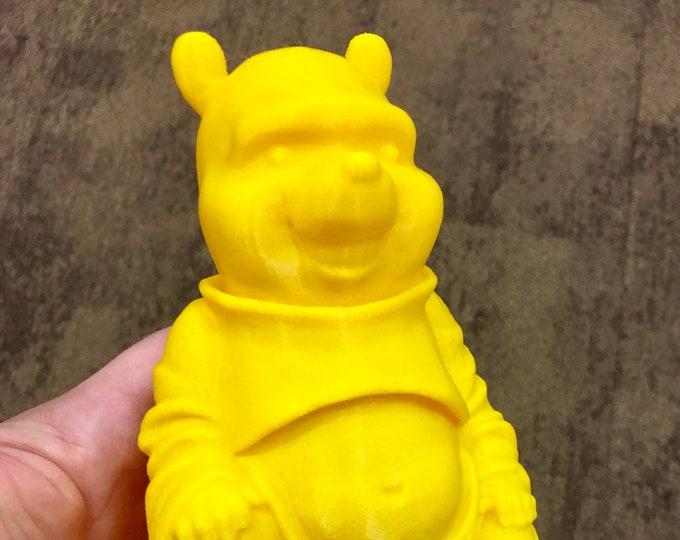 Winnie the Pooh Bear Buddha (Yellow)