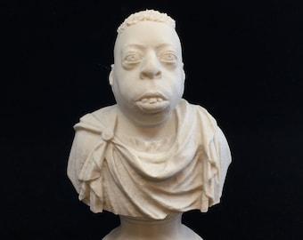 Howard Stern - Beetlejuice Roman Emperor - Fan Art Sculpture (Desert Sand)