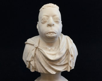 Howard Stern - Beetlejuice Roman Emperor - Fan Art Sculpture - Desert Sand