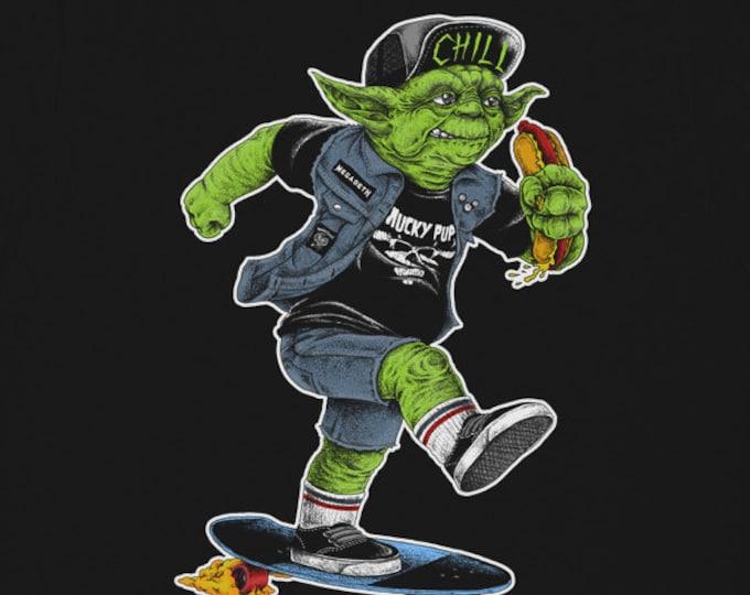 "Star Wars ""Yoda Skater"" Tshirt"