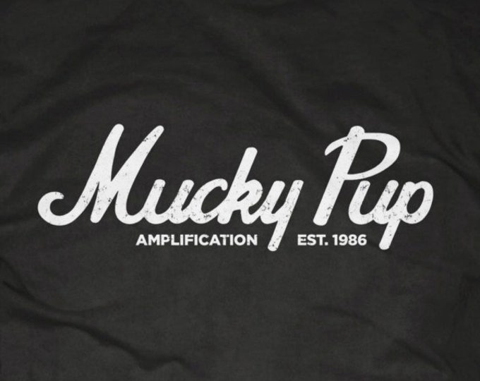 "Mucky Pup Tshirt - ""Marshall"" Logo"