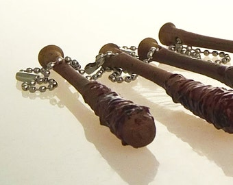 Negan's Bat (Lucille) Keychain - Walking Dead