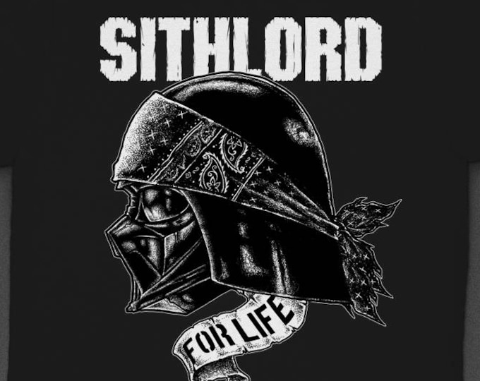 "Star Wars Vader ""Sith for Life"" Bandana - Tshirt"