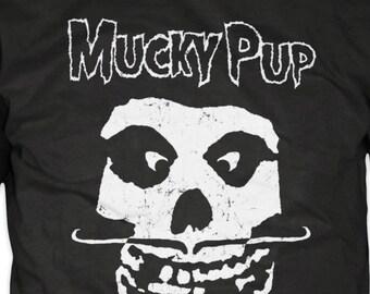 "Mucky Pup Tshirt - ""Misfits"" Logo"