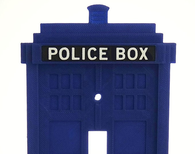 Dr. Who - Tardis - Switchplate Covers