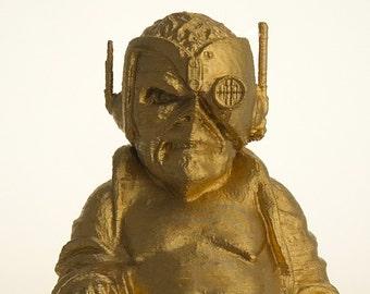 """Iron Maiden Eddie Buddha """"Somewhere in Time"""" (Brilliant Gold)"""