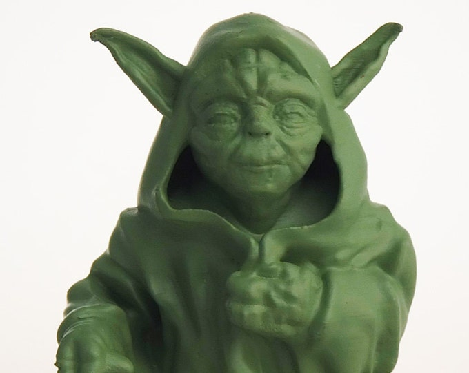 Walking Yoda  (Mint Green)