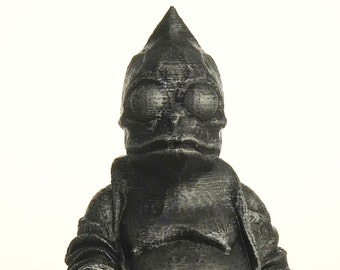 Land of the Lost - Sleestak Buddha (Hammered Iron)