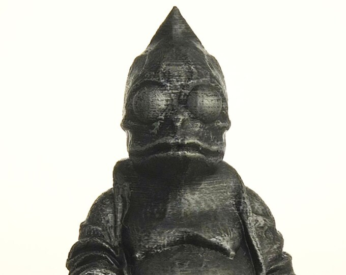 Land of the Lost - Sleestak Buddha (Hammered Iron)