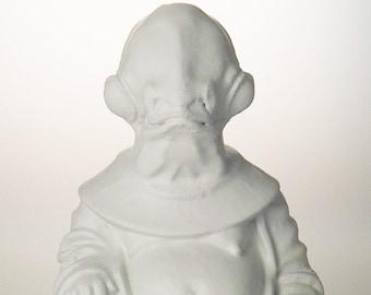 Star Wars - Admiral Ackbar (White)