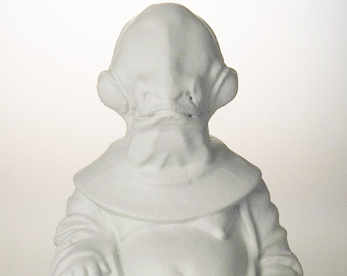 Star Wars - Admiral Ackbar (White)