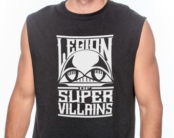 Legion of Super Villains - Sleeveless Shirt