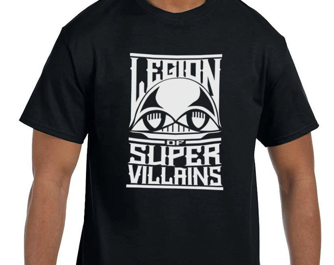 Legion of Super Villains - Tshirt