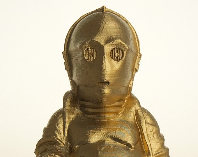 C3PO Buddha (Brilliant Gold)
