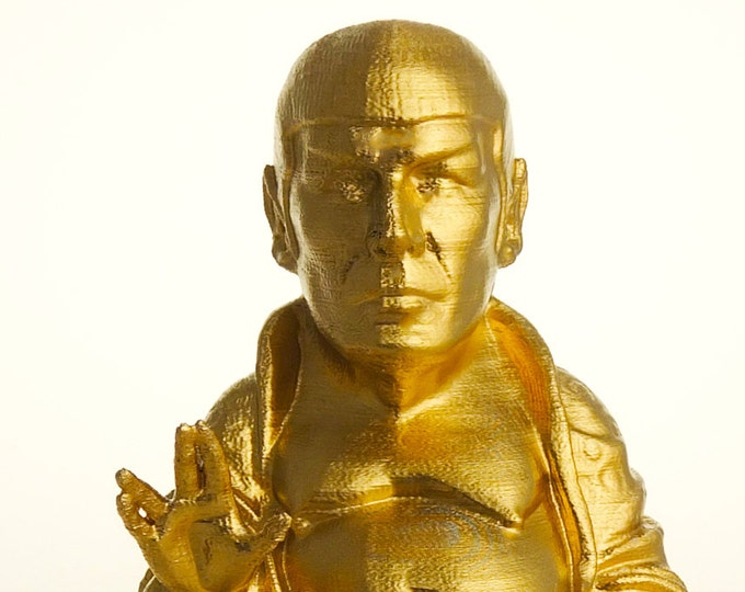 Star Trek - Spock Buddha (Brilliant Gold)