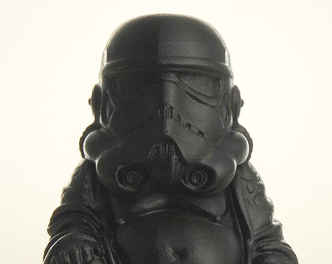 Star Wars - Trooper Buddha  (Black Satin)