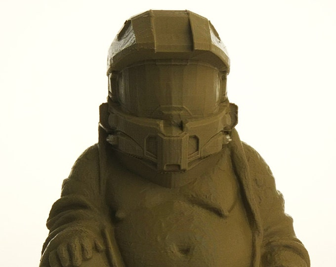 Halo - Master Chief Buddha (Sage Green)