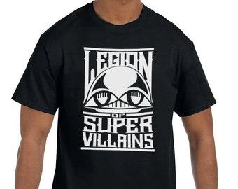Legion of Super Villains - Tshirt