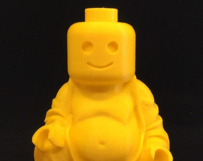 Legoman Buddha (Yellow)