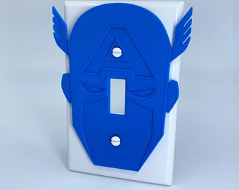 Captain America - Switchplate Cover