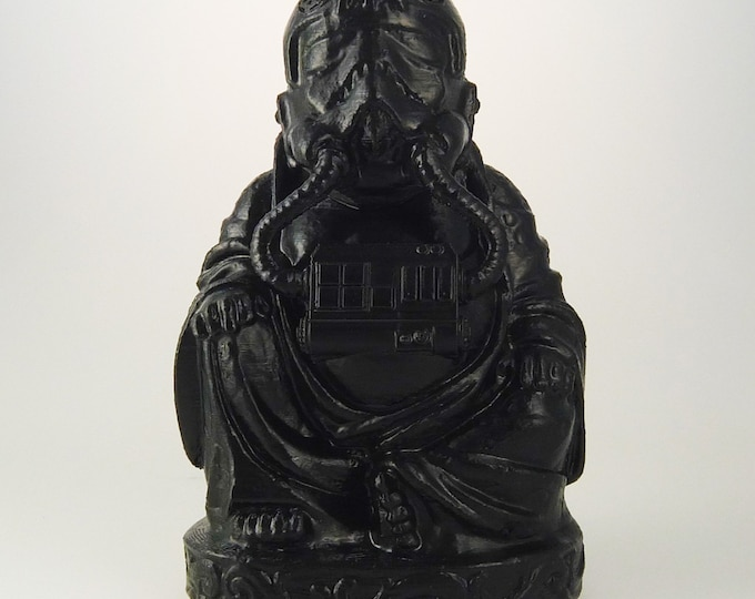 Star Wars - Tie Fighter Pilot Buddha  (Black Satin)