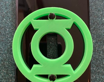 Green Lantern - Glow in the Dark - Switchplate Cover