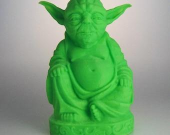 Star Wars - Yoda Buddha (Glow in the Dark Green)