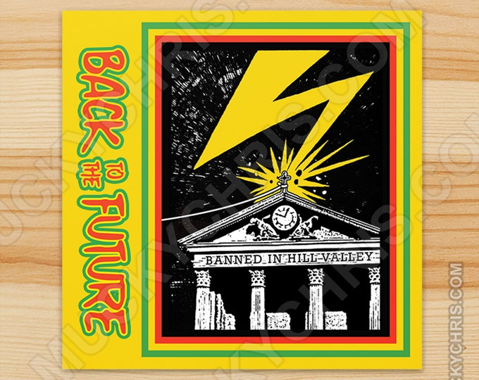 Back to the Future - Bad Brains - Sticker