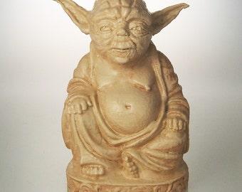 Star Wars - Yoda Buddha (Antiqued Sand)