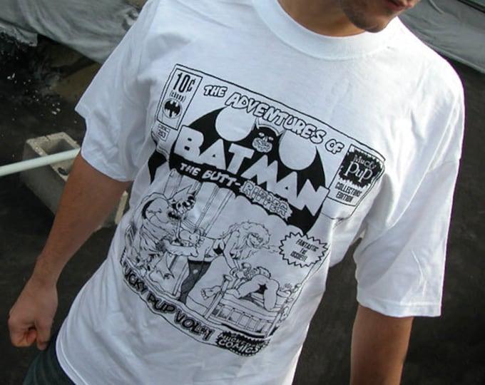 "Mucky Pup Tshirt - ""Batman"" Logo"