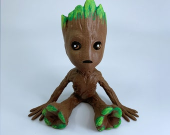 Guardians - Baby Groot (handpainted)
