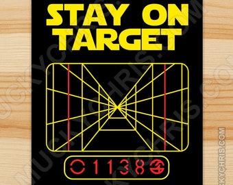 Star on Target - Sticker