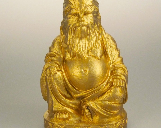Chewbacca Buddha (Brilliant Gold)