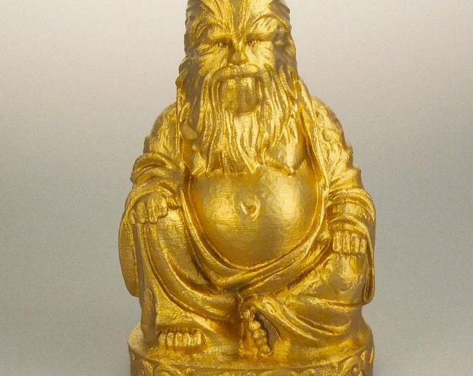 Star Wars - Chewbacca Buddha (Brilliant Gold)
