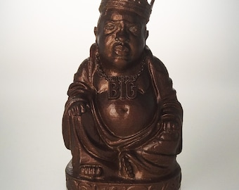 Notorious BIG Buddha (Metallic Rust)