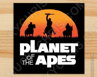 Planet of the Apes - Sticker