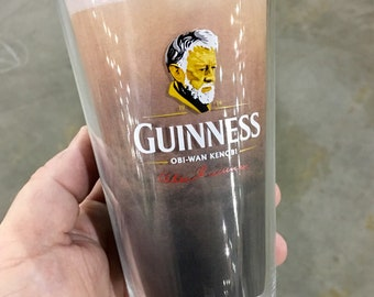 Alec Guinness Pint Glass