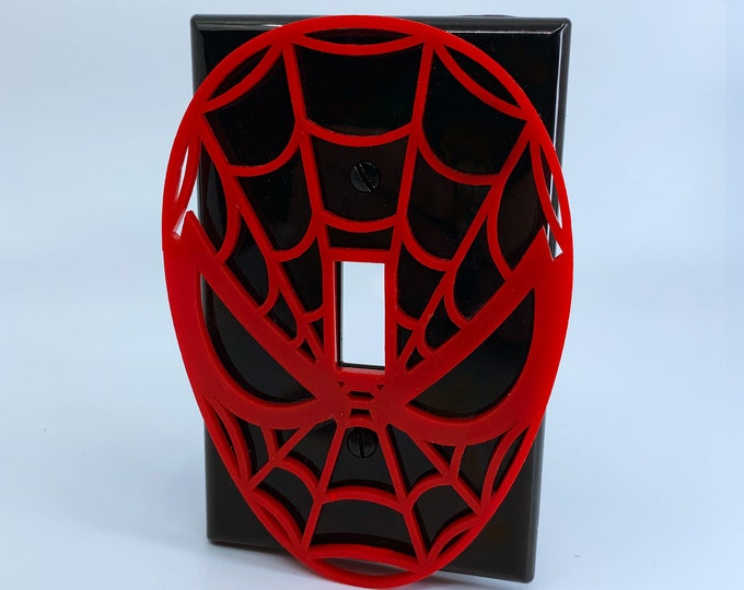 Spiderman Avengers - Switchplate Cover