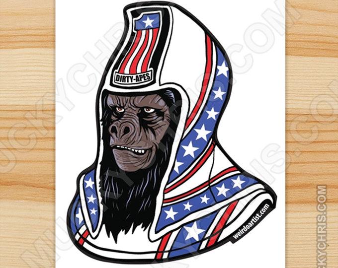Ursus Dirty Ape - Sticker