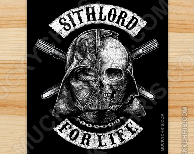 Sithlord for Life - Sticker