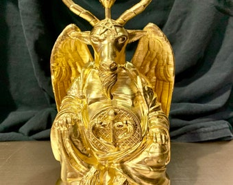 Baphomet Buddha (Brilliant Gold)