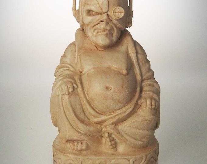 """Iron Maiden - Eddie """"Somewhere in Time"""" Buddha (Antiqued Sand)"""