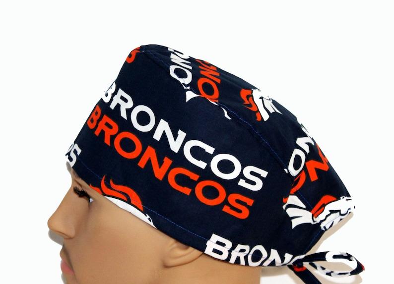 09ddc6993 Denver Broncos Scrub Cap, Football tech Scrub Hat, Surgeons Scrub hat, Vet  Tech Scrub Hat Scrub Cap, Nurse's Gift, Scrub hats, scrub caps
