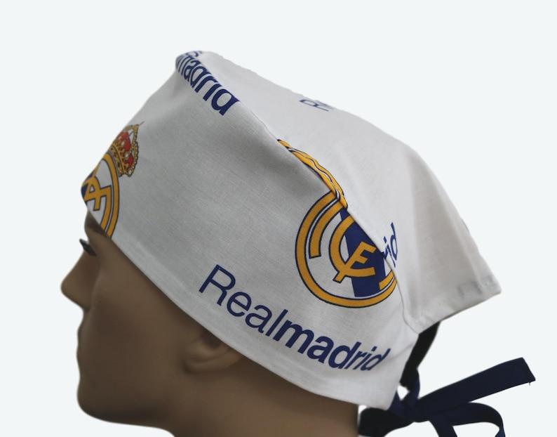 bd823f81d57 Real Madrid Scrub Cap Spain Soccer Team Scrub HatScrub
