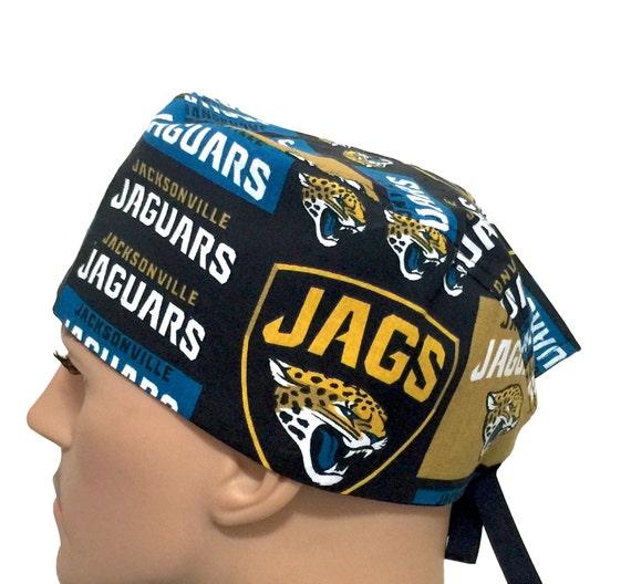 bf837f4a14e490 Jacksonville Jaguars Scrub Cap Football Scrub Hat Surgeons | Etsy