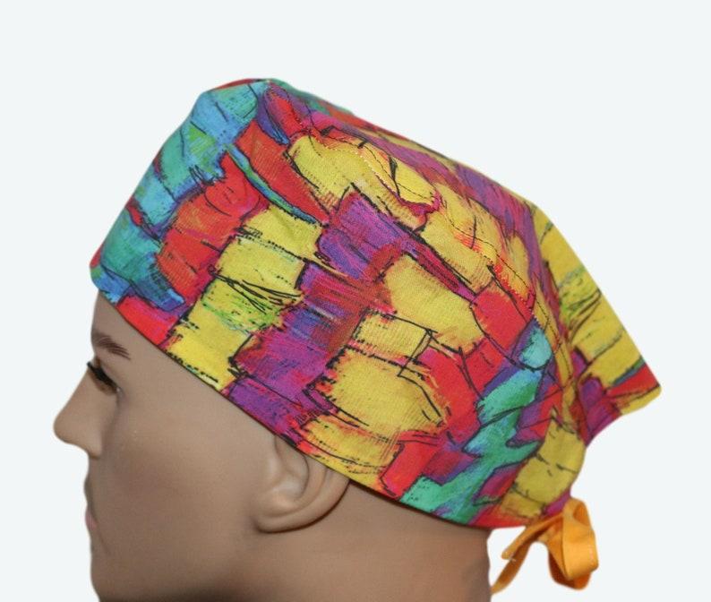 Piñata Design Mexican Party Decor scrub hat Children's image 0