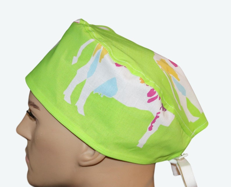 Colorful Paintbox Cows Scrub Hatanimal personalized scrub image 0