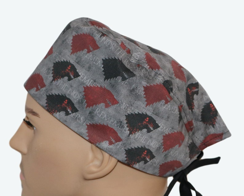 Game of Thrones scrub hat Remember the North Scrub CapTV image 0