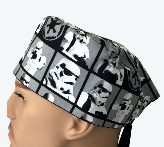 128828f302c Star Wars Scrub Hat Vet Tech Scrub Hat Nurse s Gift